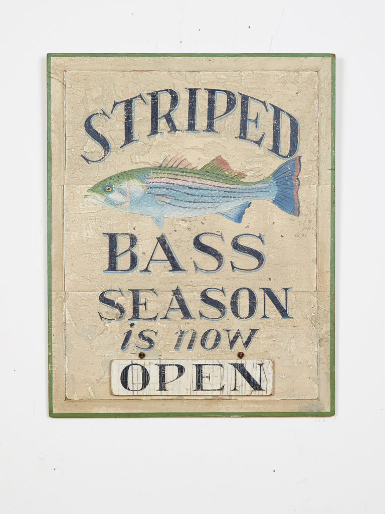 Striped Bass Season is Now Americana Art