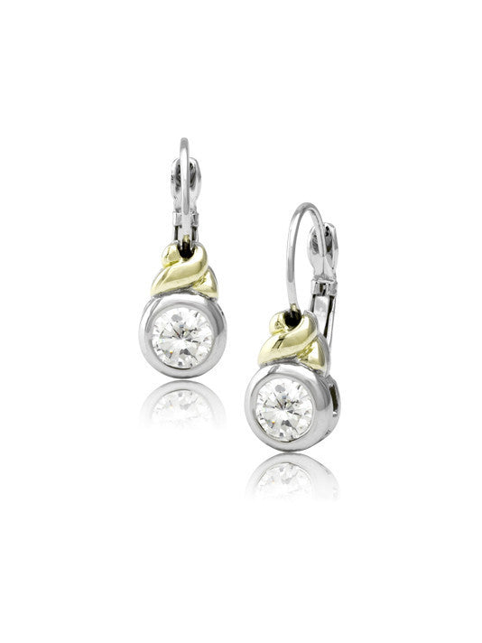 Antiqua CZ French Earrings by John Medeiros