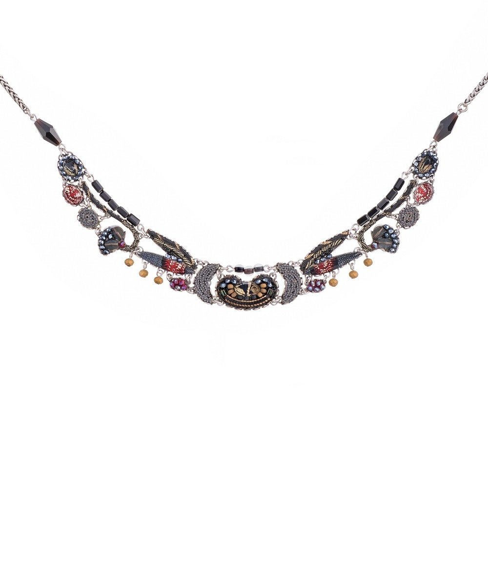 Moon Jet Frida Necklace by Ayala Bar