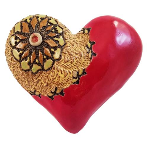 Baby Radiance Heart Ceramic Wall Art