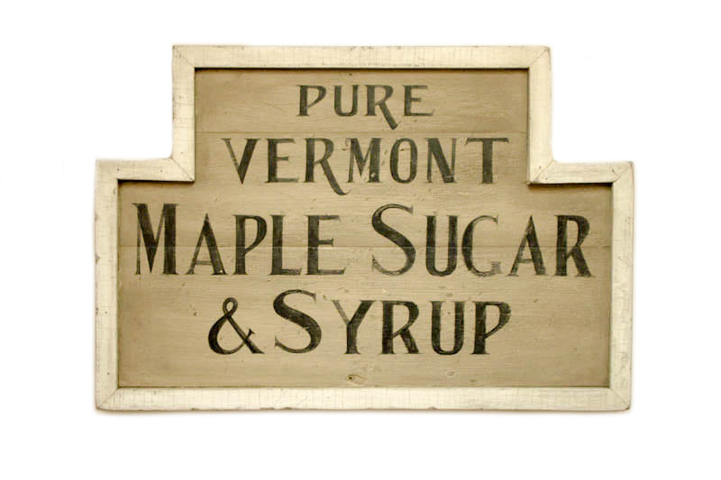 Pure Vermont Maple Sugar and Syrup Americana Art