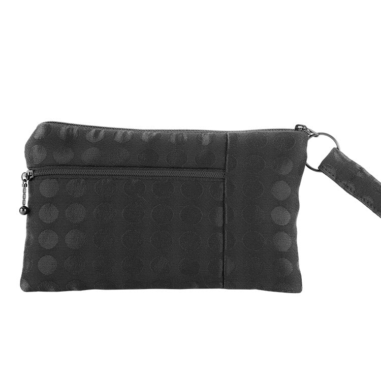 Maruca Beetle Wristlet in Nibs Black