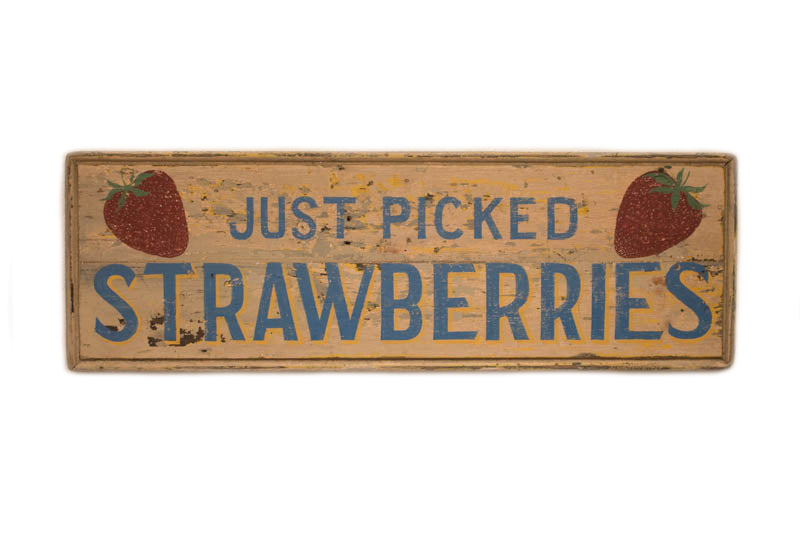 Just Picked Strawberries Americana Art
