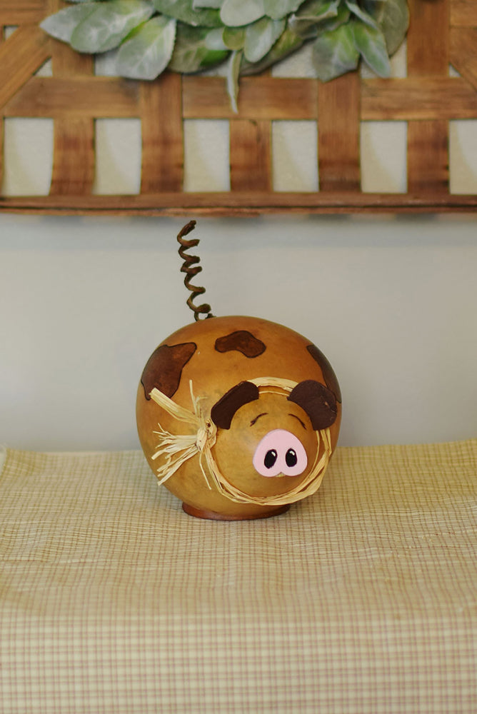 Pat the Pig Gourd - Available in Multiple Sizes