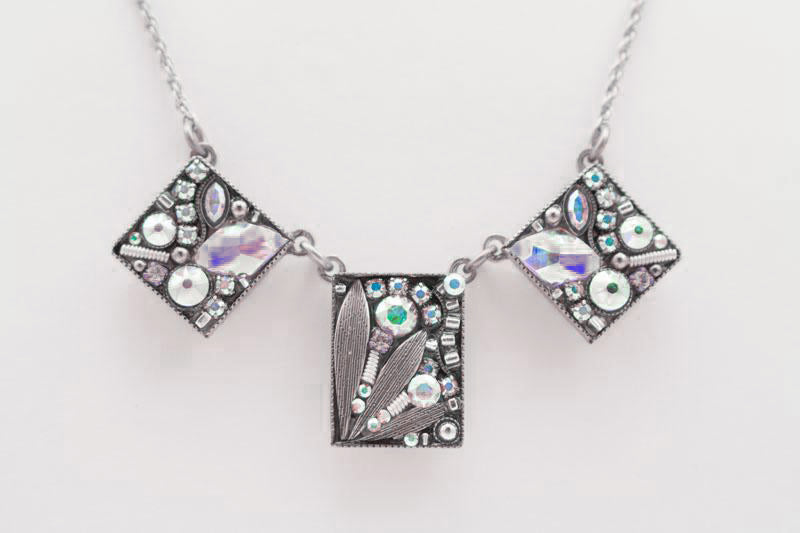 Aurora Borealis Luxe 3-Piece Necklace by Firefly Jewelry