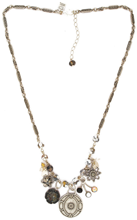 Nuevo Lithos Sundance Necklace by Desert Heart