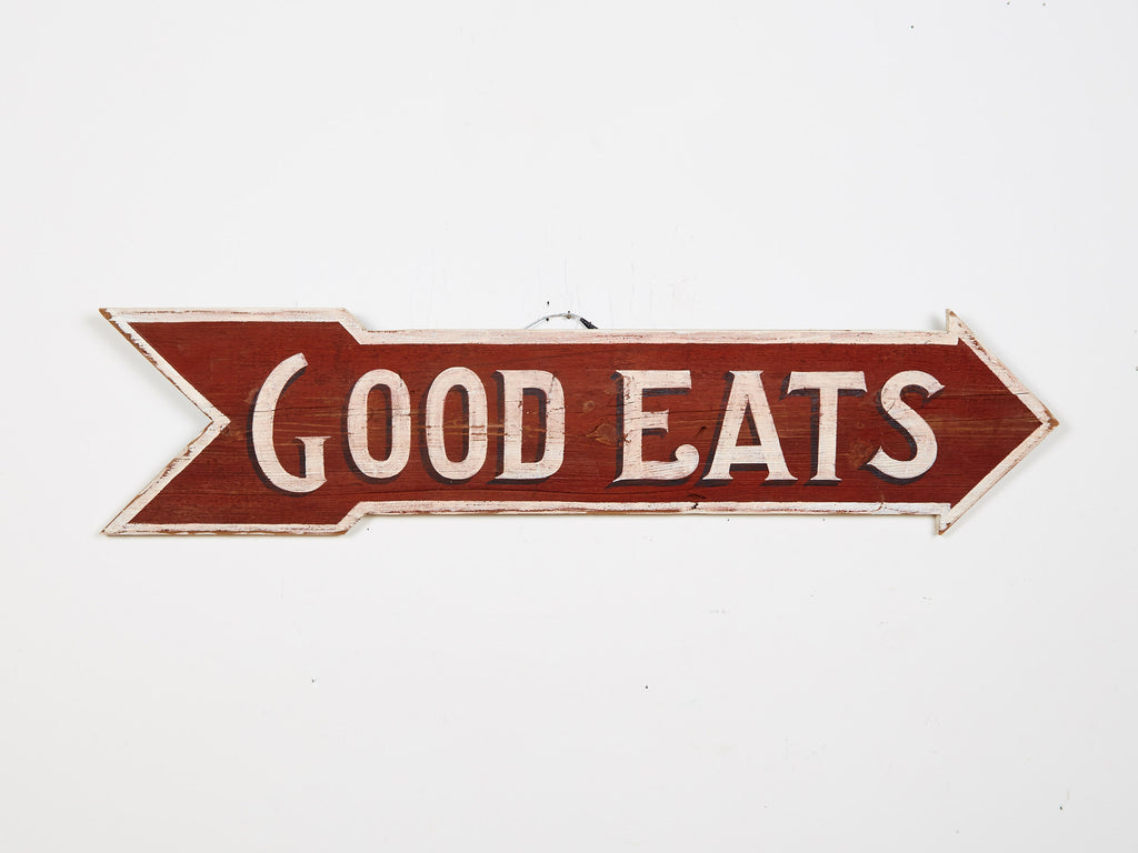 Good Eats Arrow Americana Art