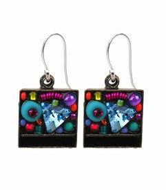 Multi Color Jumble Earrings by Firefly Jewelry