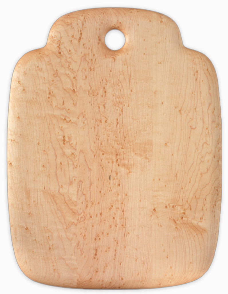 Bird's Eye Maple Breadboard - 13 inches x 17 inches