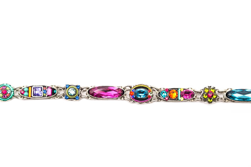 Multi Color Petite Dolce Vita Bracelet by Firefly Jewelry