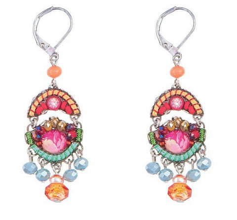 Polyanthus Earrings by Ayala Bar