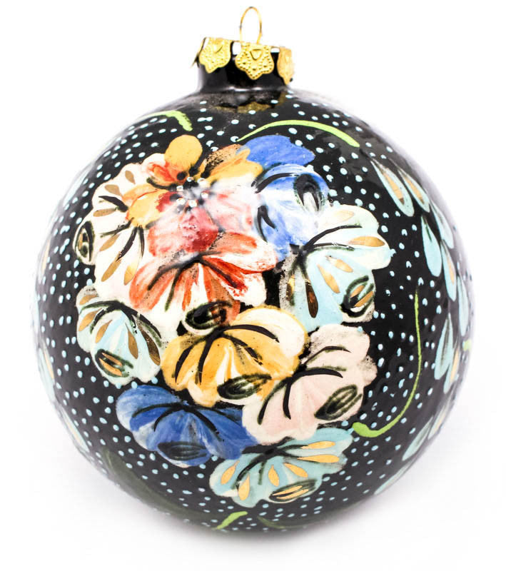 Bluebell Bouquet Large Bulb Ceramic Ornament
