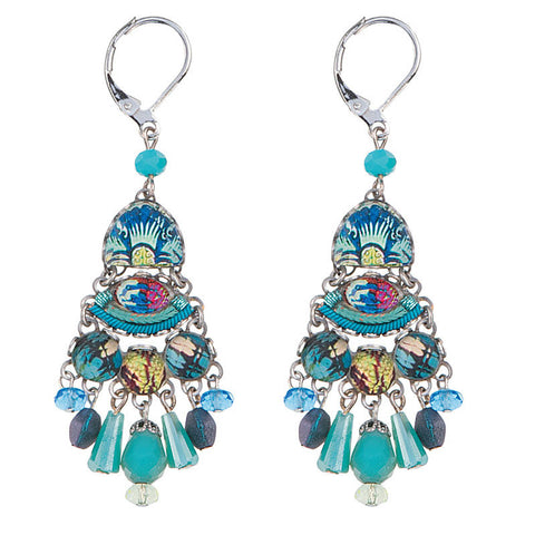 Caspian Rain Radiance Collection Earrings by Ayala Bar