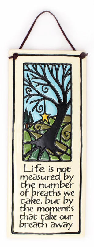 Life Measured Ceramic Tile