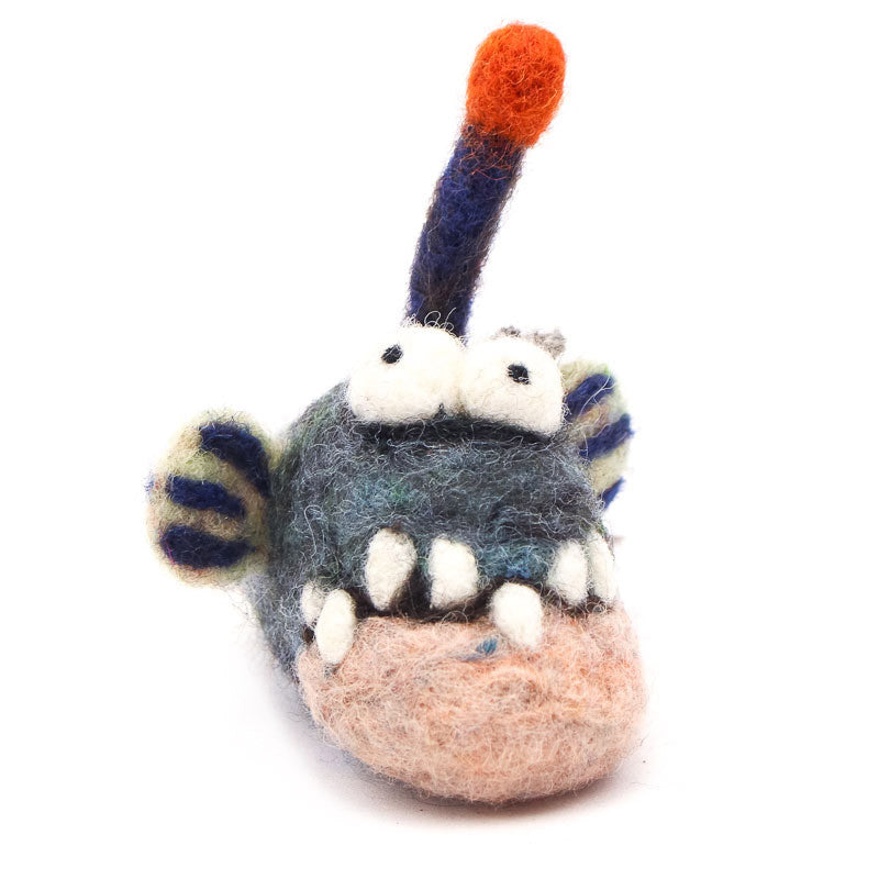 Angler Fish Woolie Ornament