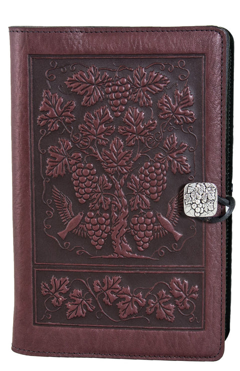 Small Leather Journal - Grapevine in Wine