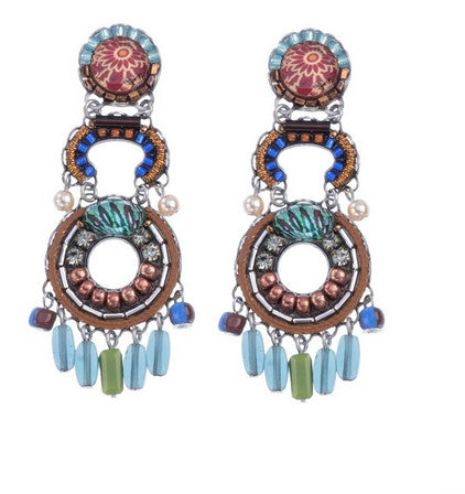 Pine Hill Earrings by Ayala Bar