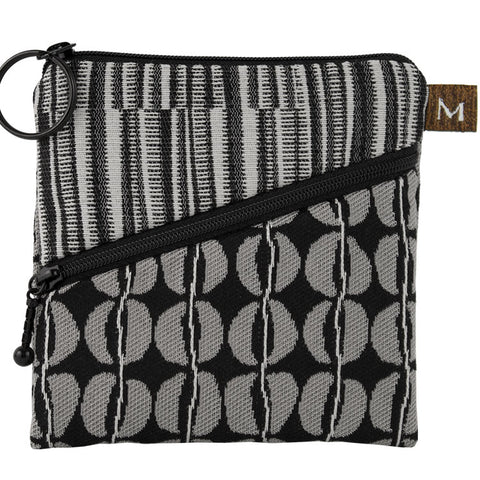 Maruca Roo Pouch in Black Eyed Peas