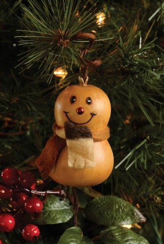 Flake Mini Gourd Ornament