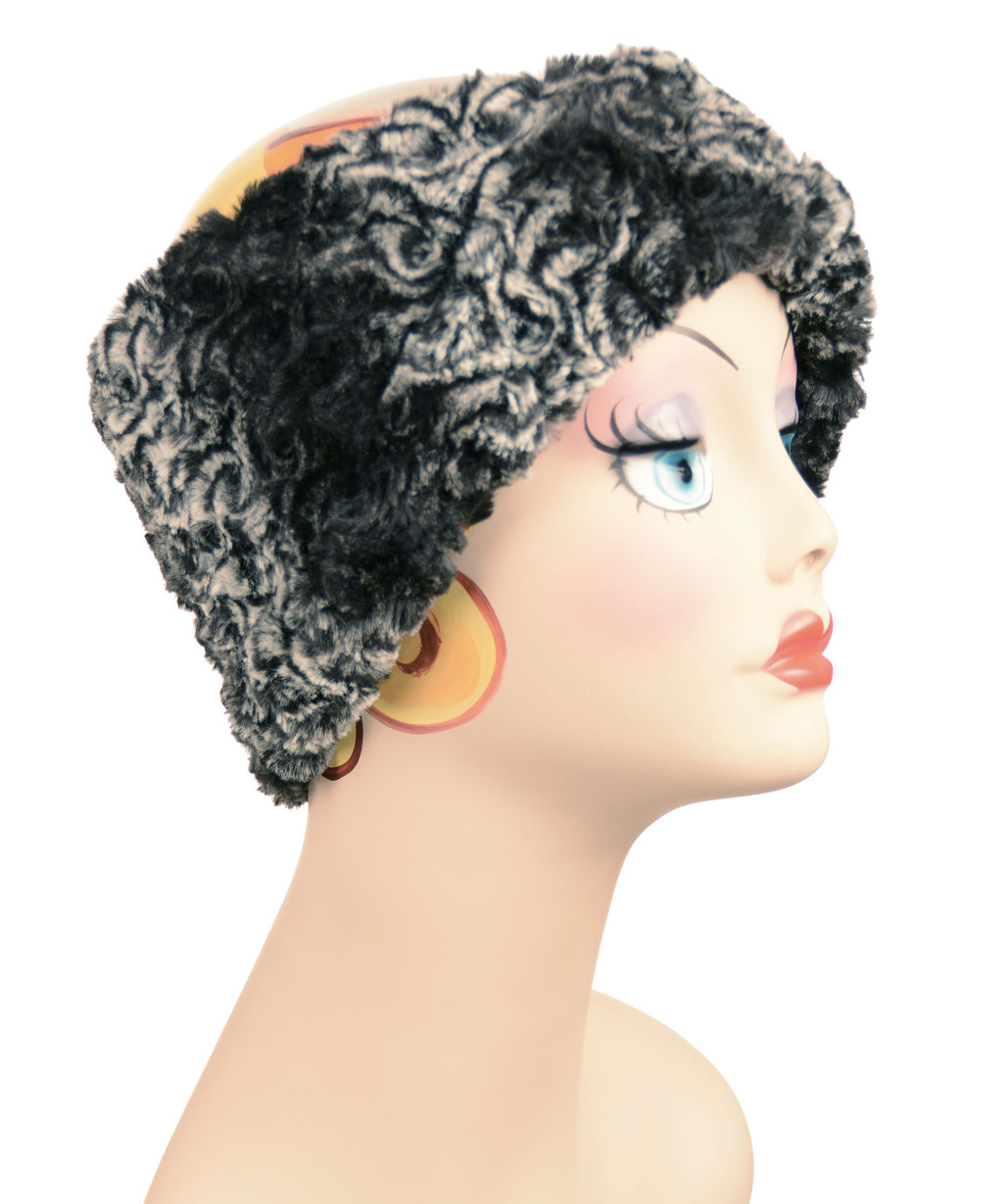 Smoky Essence Luxury Faux Fur Headband