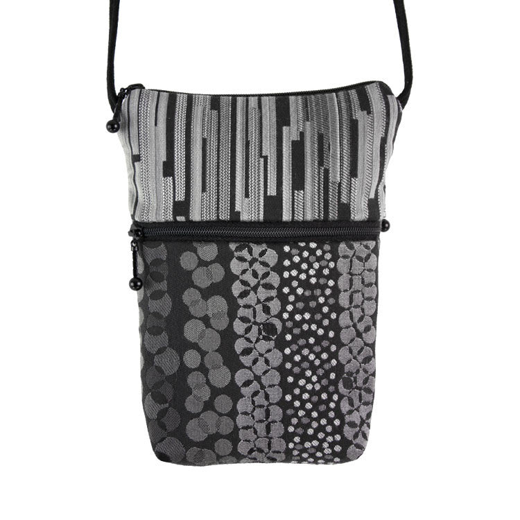 Maruca Sprout Handbag in Confetti Black