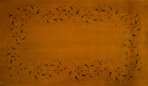 May House Border in Antique Floorcloth