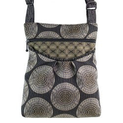 Maruca Busy Body Handbag in Sliced Black