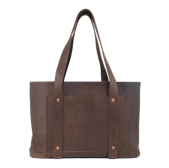 Leather Hideout Tote - Available in Multiple Colors