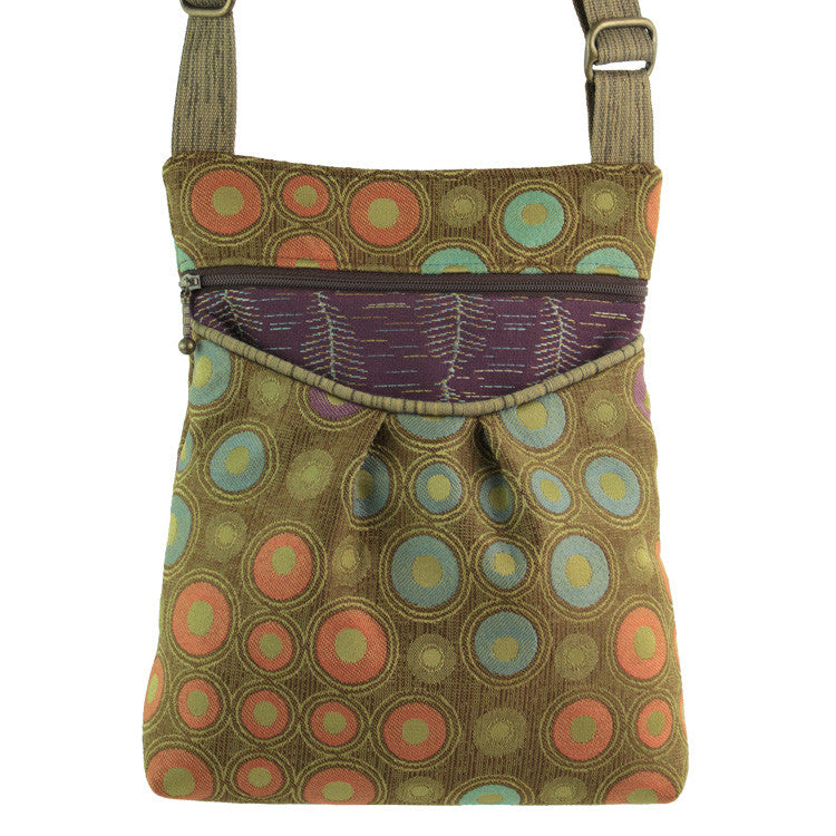 Maruca Busy Body Handbag in Embossed Olive