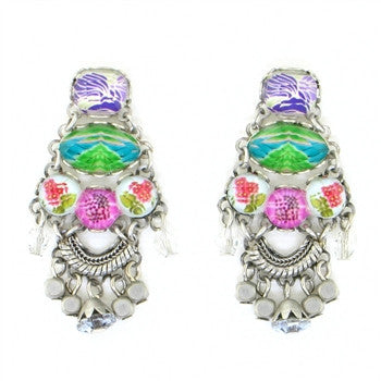 Cactus Bloom Small Radiance Collection Earrings by Ayala Bar