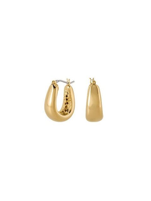 Antiqua Tailored Series Small Gold Earrings by John Medeiros