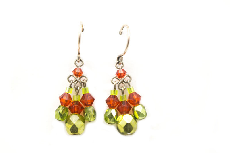 Avo Drop Earrings by Firefly Jewelry