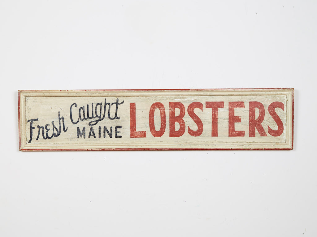 Fresh Caught Maine Lobsters Americana Art