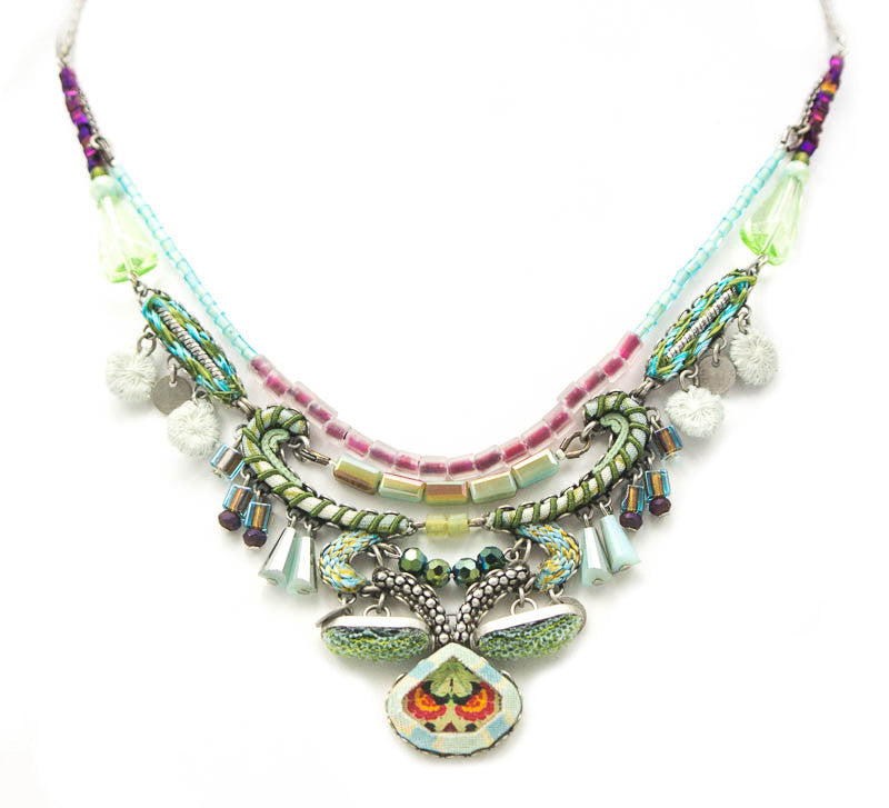 Aqua Medium Hip Collection Necklace by Ayala Bar
