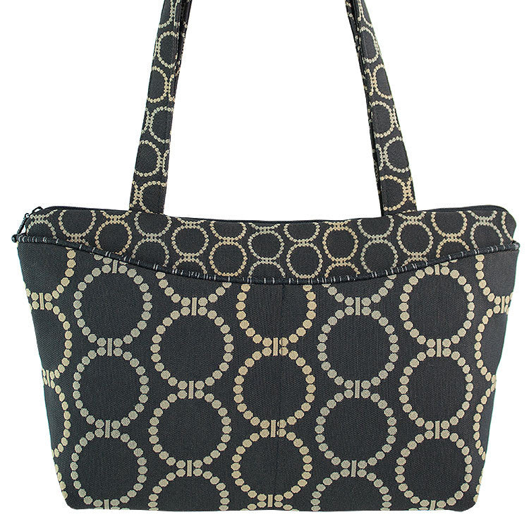 Maruca Andie Handbag in Linked Black