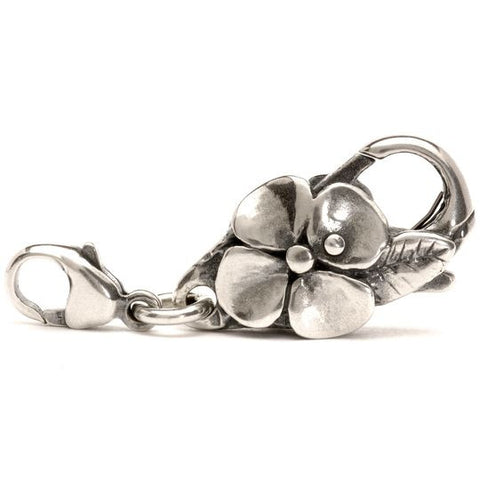 Big Flower Lock, Silver by Trollbeads