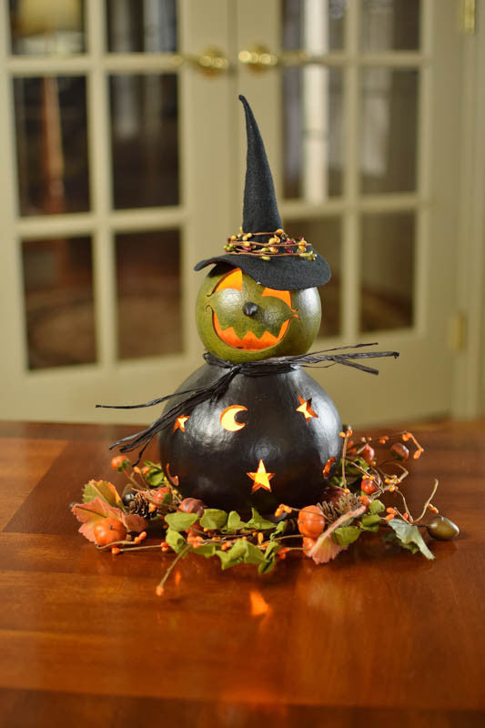Fiona Witch Gourd - Available in Multiple Sizes