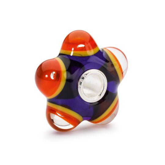 Flaming Meditation Glass Bead by Trollbeads