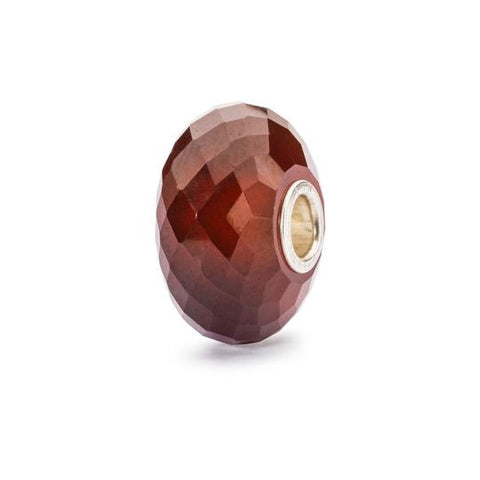 Hessonite Garnet Faceted Bead by Trollbeads