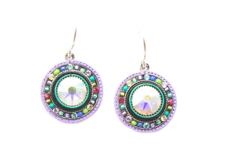 Soft La Dolce Vita Round Earrings by Firefly Jewelry