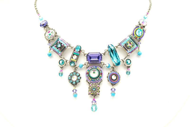 Soft La Dolce Vita Elaborate Necklace by Firefly Jewelry