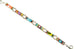 Dainty Multi ColorBar Bracelet by Firefly Jewelry