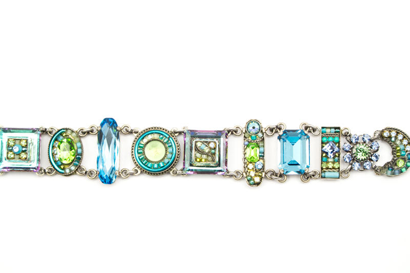 Light Blue La Dolce Vita Bracelet by Firefly Jewelry