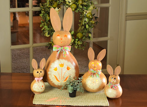 Kathy Bunny Gourd - Available in Multiple Sizes