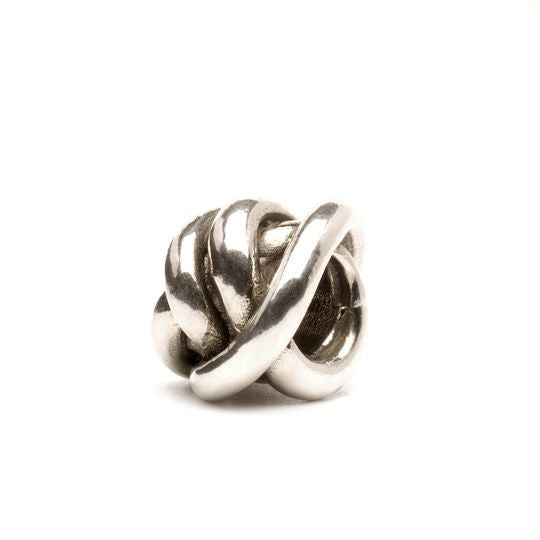 Lucky Knot Sterling Silver Bead by Trollbeads