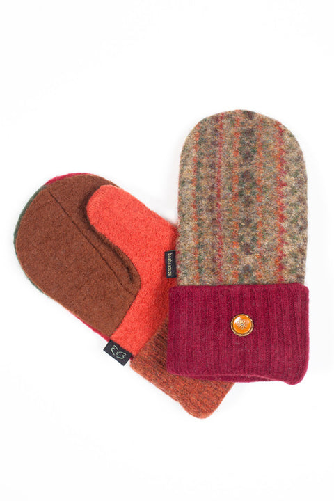 Wool Mittens in Fall