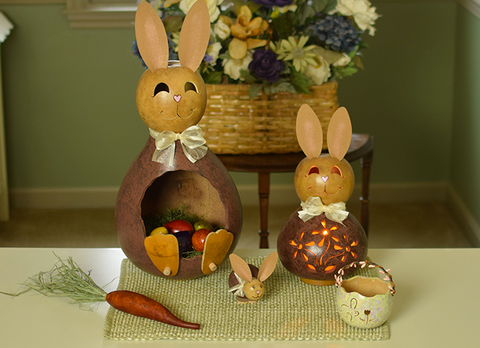 Calvin Bunny Gourd - Available in Multiple Sizes