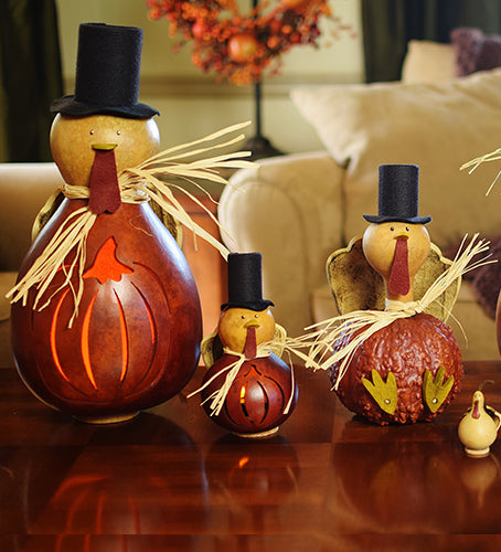 Thomas Turkey Gourd - Available in Multiple Sizes