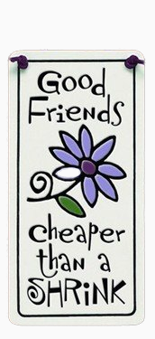 Good Friends Charmer Ceramic Tile