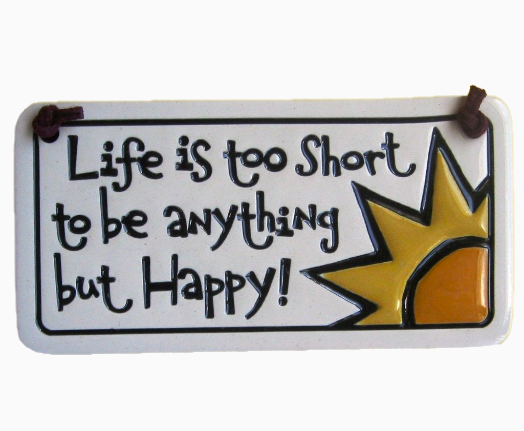 Life Is Too Short Charmer Ceramic Tile